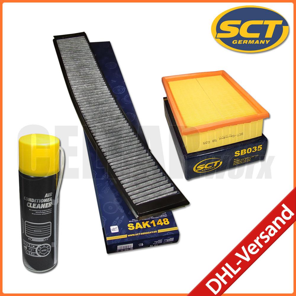 SCT-FILTER PAKET Innenraumfilter Luftfilter für BMW X5 E53 3.0i